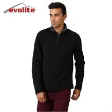 Evolite Fuga Bay Mikro Polar Sweater - Siyah